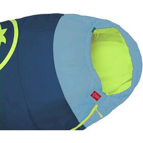 TROLLKIDS Fjell Dreamer Sleeping Bag Extendable Kids, Azul petróleo